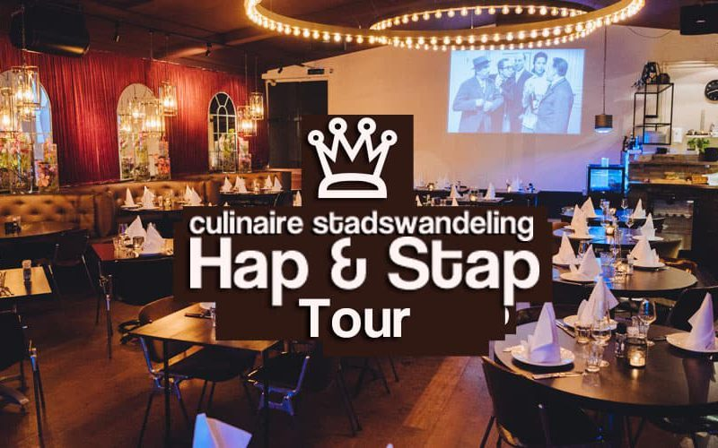 walking dinner hap en stap tour