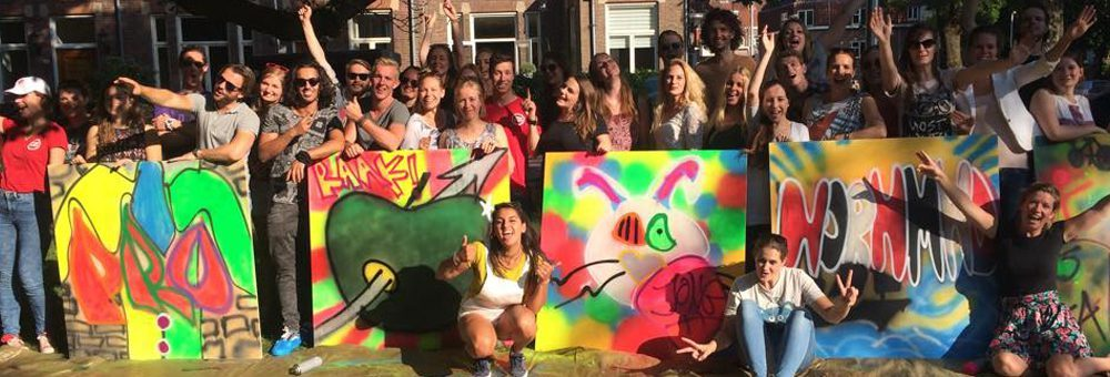 graffiti workshop nederland